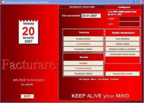 Software facturare si emitere chitante Microfact de la Info Kam Technologies S.r.l.