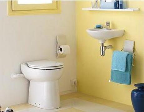 Scaun toaleta Sanipompa Sanicomoact C43 de la Sfa Saniflo Srl