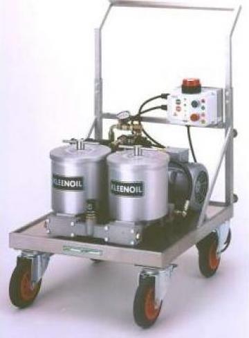 Instalatie pentru filtrarea uleiului de la Antos Grup Srl