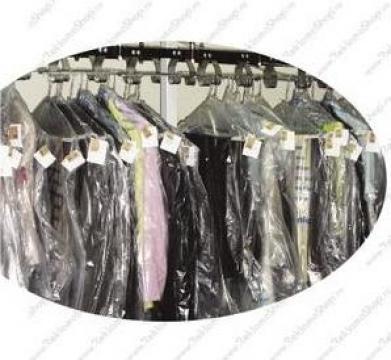 Huse din LDPE (polietilena) pentru protectie haine pe umeras de la Fabrica De Ambalaje Exonia Holding SRL