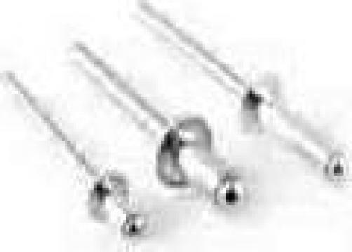 Nituri pop cap bombat aluminiu-otel/4,8x35 de la Rubitek Srl