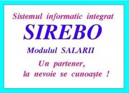 Software program calcul salarii de la Rebola Soft Srl