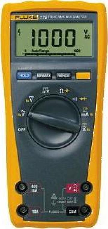 Multimetru digital Fluke 175 de la Nova Test Industrial Srl