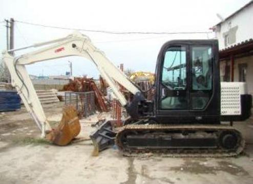 Excavator pe senile de la Tex Rent Ro Srl