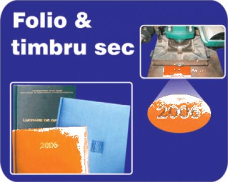 Folio timbru sec