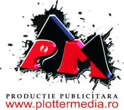Servicii print pentru agentii de publicitate Galati de la Sc Plotter Media Srl