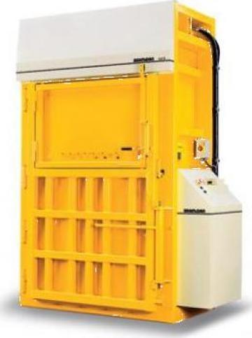 Presa de balotat carton, folie, PETX 50 L de la Sc Schuster Recycling Technology Srl