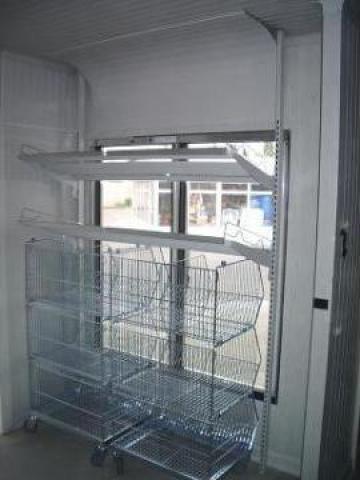 Usi din sticla si sisteme de rafturi camere frigorifice