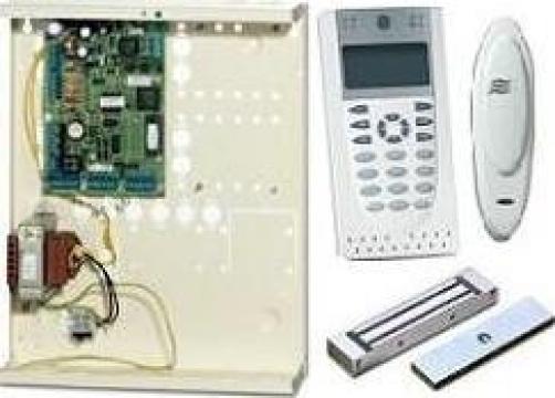 Sistem control acces si pontaj de la Vector Systems