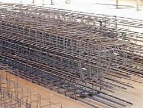 Carcase din otel beton pentru stalpi, grinzi de la Sc Ferrallas Romespa Srl