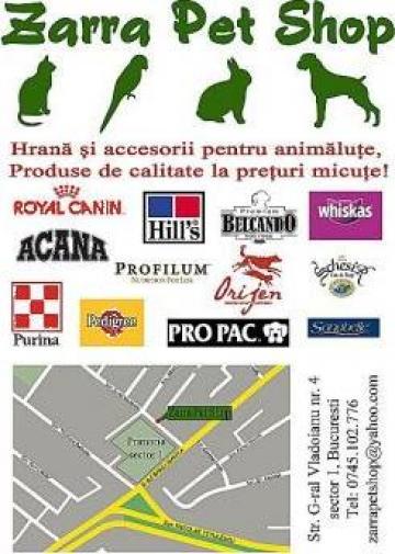 Hrana si accesorii pentru animale de la Iridis Serv Srl