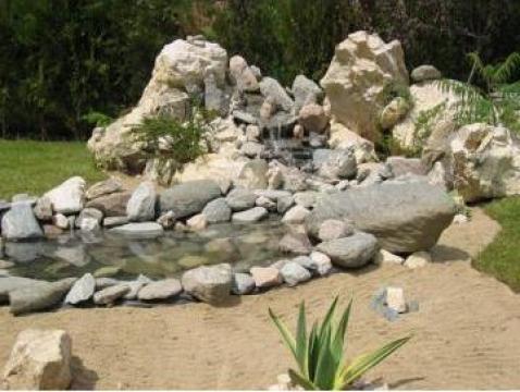 Cascada gradina de la Sempreverdi