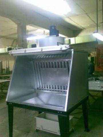 Cabina pentru vopsire lichida de la S.c. Tim Electrocolor S.r.l.