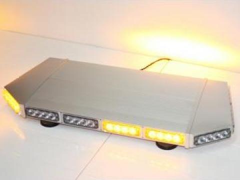 Girofar auto minirampa portocalie cu LED