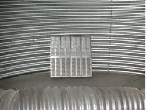 Sistem de ventilatie cereale de la Utilaje Constructii Intercom Srl