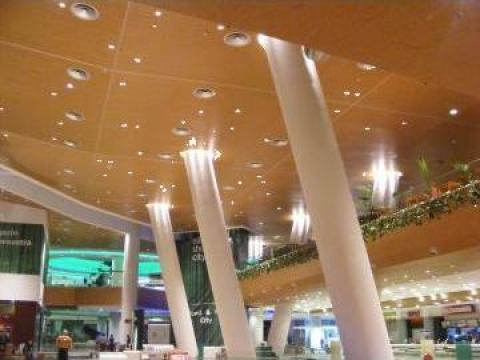 Placari fonoabsorbante pentru pereti si tavane
