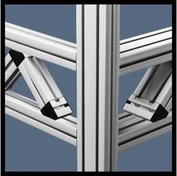 Elemente de rezistenta din aluminiu de la Minitec Solutions