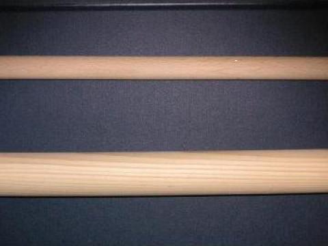 Bare lemn pentru galerii perdele
