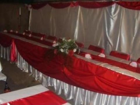 Aranjament pentru salon de nunta de la Momente De Vis Srl
