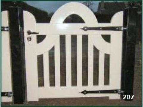 Porti, portite si garduri din lemn de la Mona Company