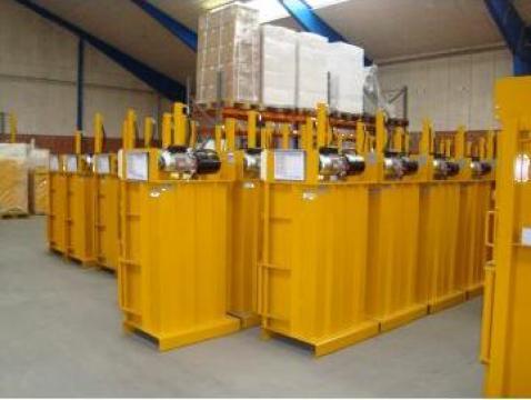 Prese de balotat carton, folie, PET de la Sc Schuster Recycling Technology Srl