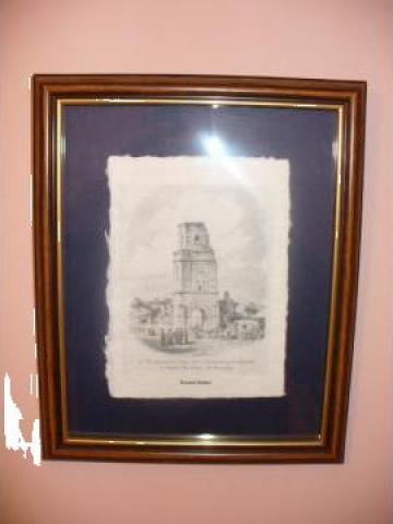 Gravuri cu imagini din Bucurestiul vechi de la Rocas Design