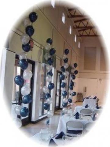 Baloane cu heliu pentru decoratiuni evenimente de la Expert Mariaj