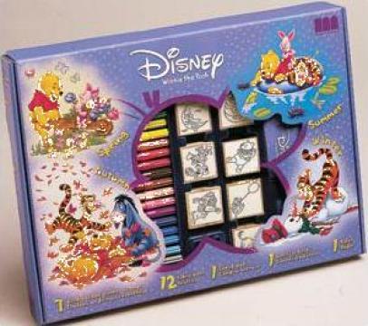 Joc educativ 7 stampile Disney de la Sc Planeta B 612 Srl