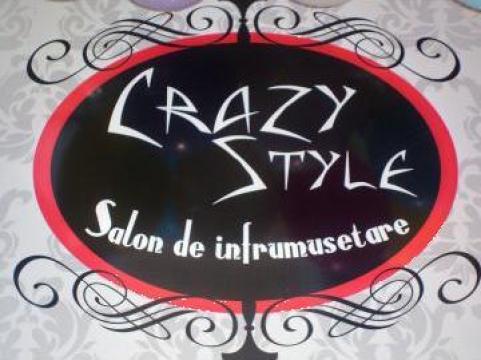 Servicii de infrumusetare CrazyStyle de la Sc Uzzi Building Srl