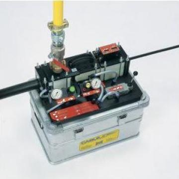 Masina cu motor pneumatic Cablejet de la Ton Telecom