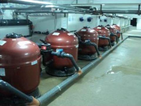 Instalatii de filtrare pentru piscine Pacific de la Spider Com Srl