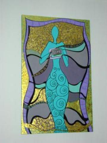 Pictura Mitologie greaca - Sirena de la Creartive