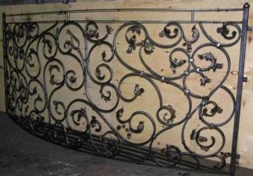 Balustrada din fier forjat pentru balcoane