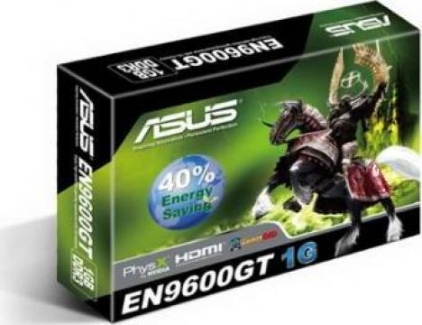 Placa video Asus Nvidia GF9600GT de la Nelbo Techshare Srl