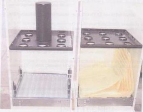 Instalatie exhaustare cu filtre din microfibra de la Bro Llemn Srl
