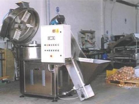 Masina de curatat ceapa si usturoi