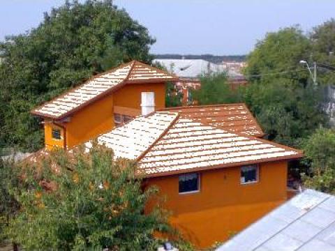 Montaj tigla acoperis de la Kuasar Activ Srl