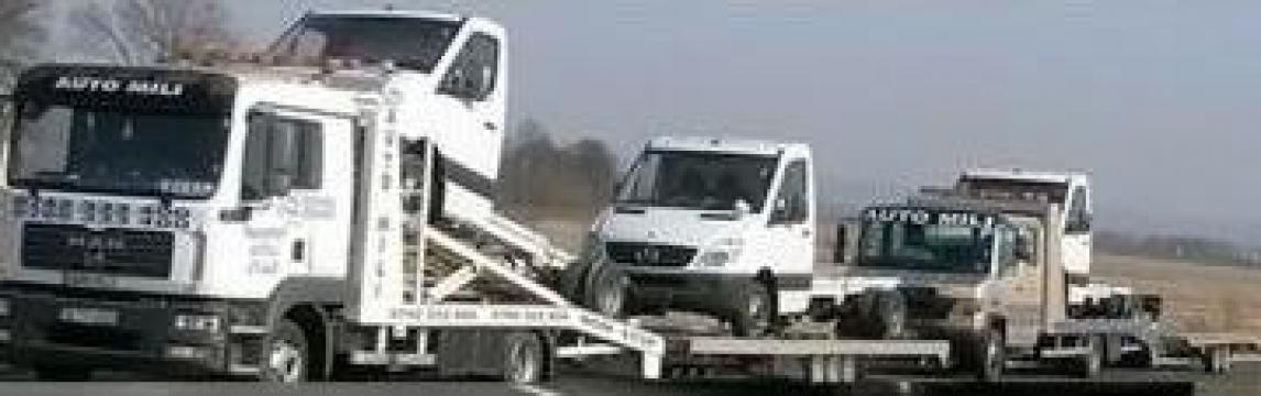Tractare camioane de la Sc Auto Mili Srl