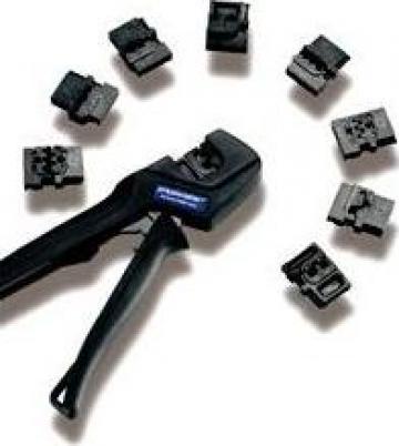 Prese clesti sertizare cabluri ressmaster rg6/59