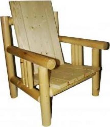 Fotoliu din lemn pentru casa sau gradina