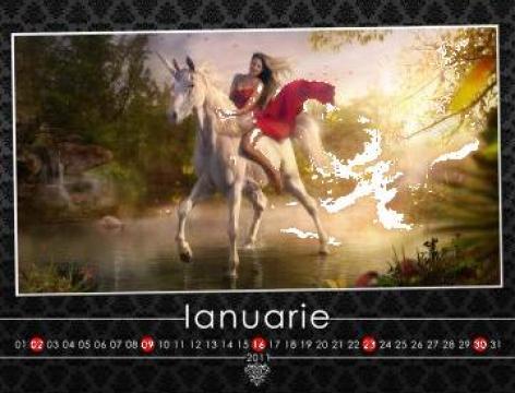 Calendare personalizate pe hartie fotografica de la Smart Foto Solution