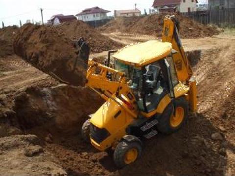 Inchiriere buldoexcavator de la As Construct Srl
