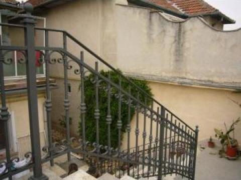 Balustrada fier forjat de la Sc Grimet Construct Srl