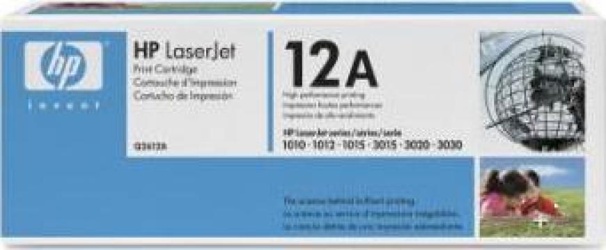 Toner Laser imprimanta HP Q2612A Black de la Giorgio 67 Service S.R.L.