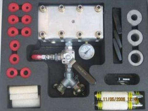 Echipament pentru suflat fibra optica de la Imocon Srl