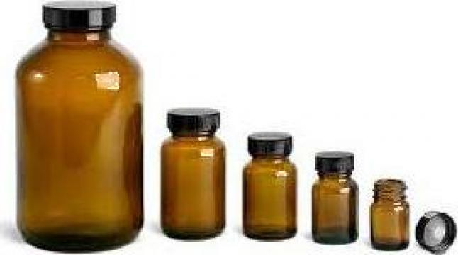 Sticla 25 ml brun 100 bucati/bax