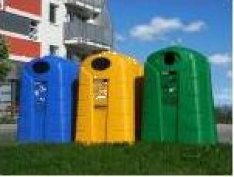 Containere clopot - Igloo din material plastic 2.5 mc