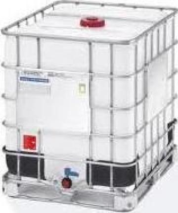 Rezervoare IBC cu grilaj si palet metalic IBC Container de la Elkoplast Romania Srl.