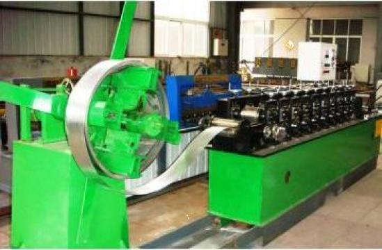 Linie echipament de productie profile rigips CD,UD,CW,UW de la Sc Rom Prest Service Srl
