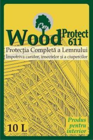 Tratament protectia pentru structurilor din lemn WoodProtect